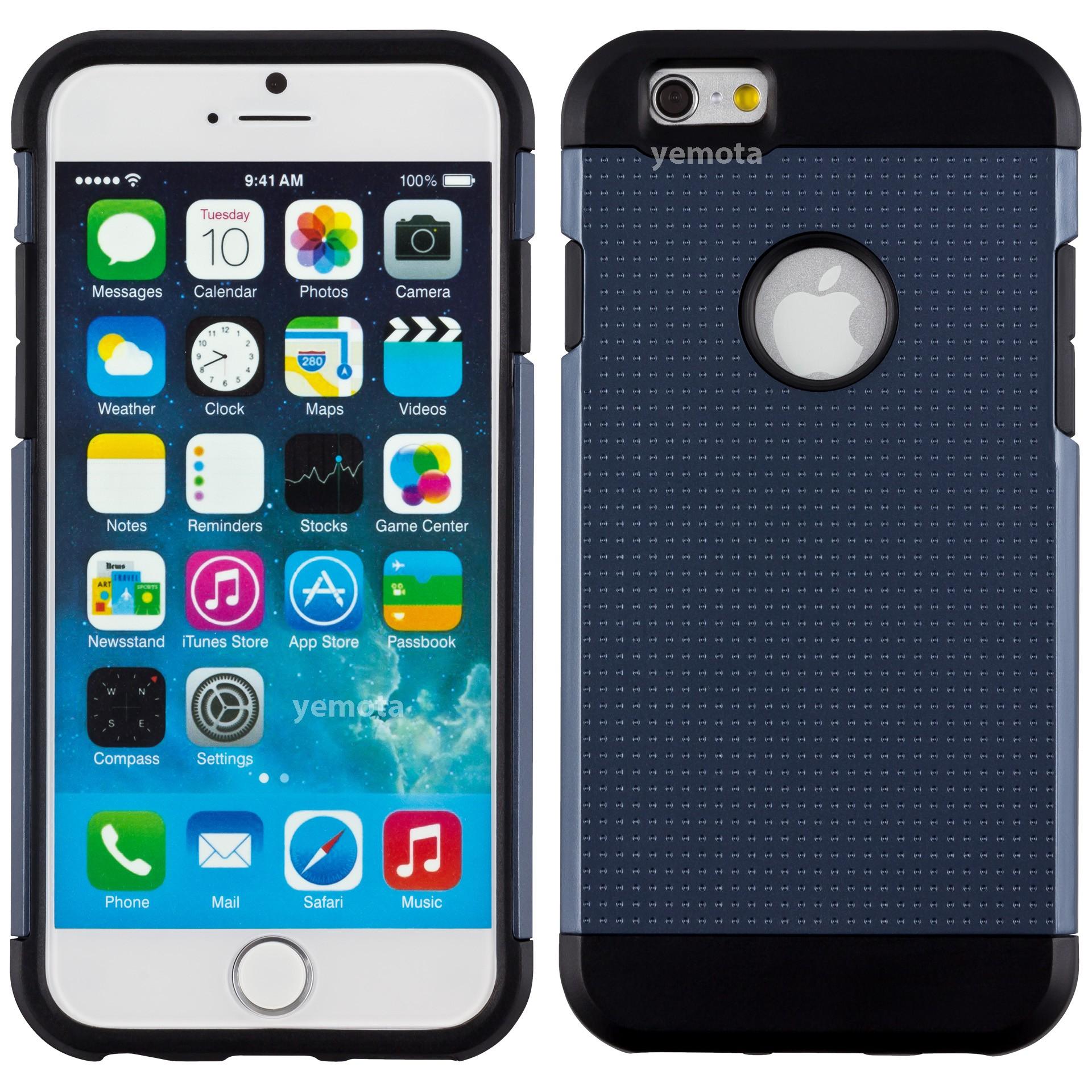Yemota Pro Hardcase für iPhone 6 - Grau