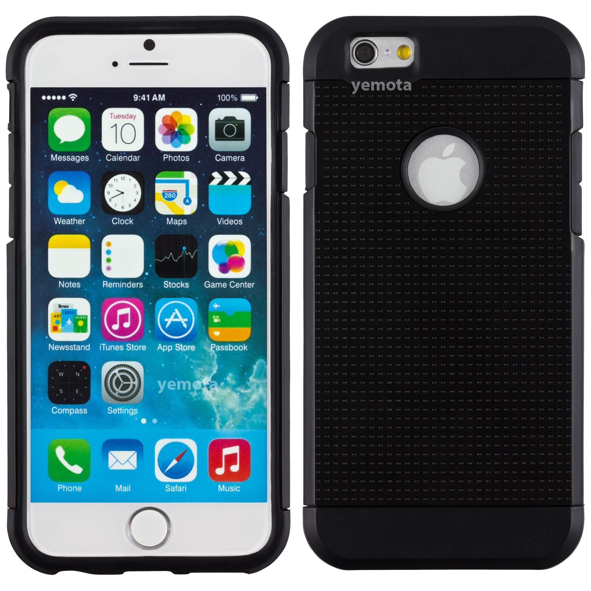 Yemota Pro Hardcase für iPhone 6 - Schwarz