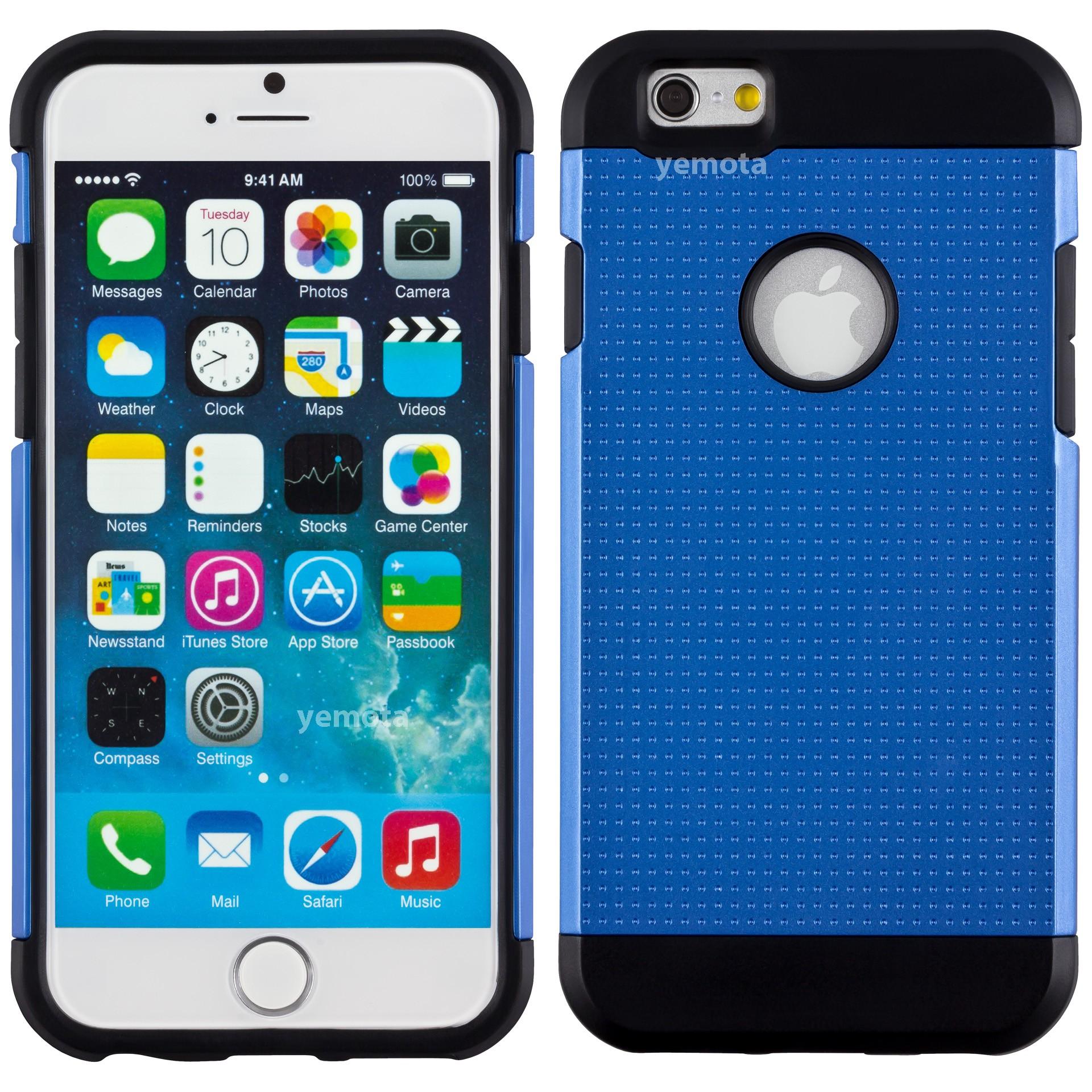 Yemota Pro Hardcase für iPhone 6 - Blau