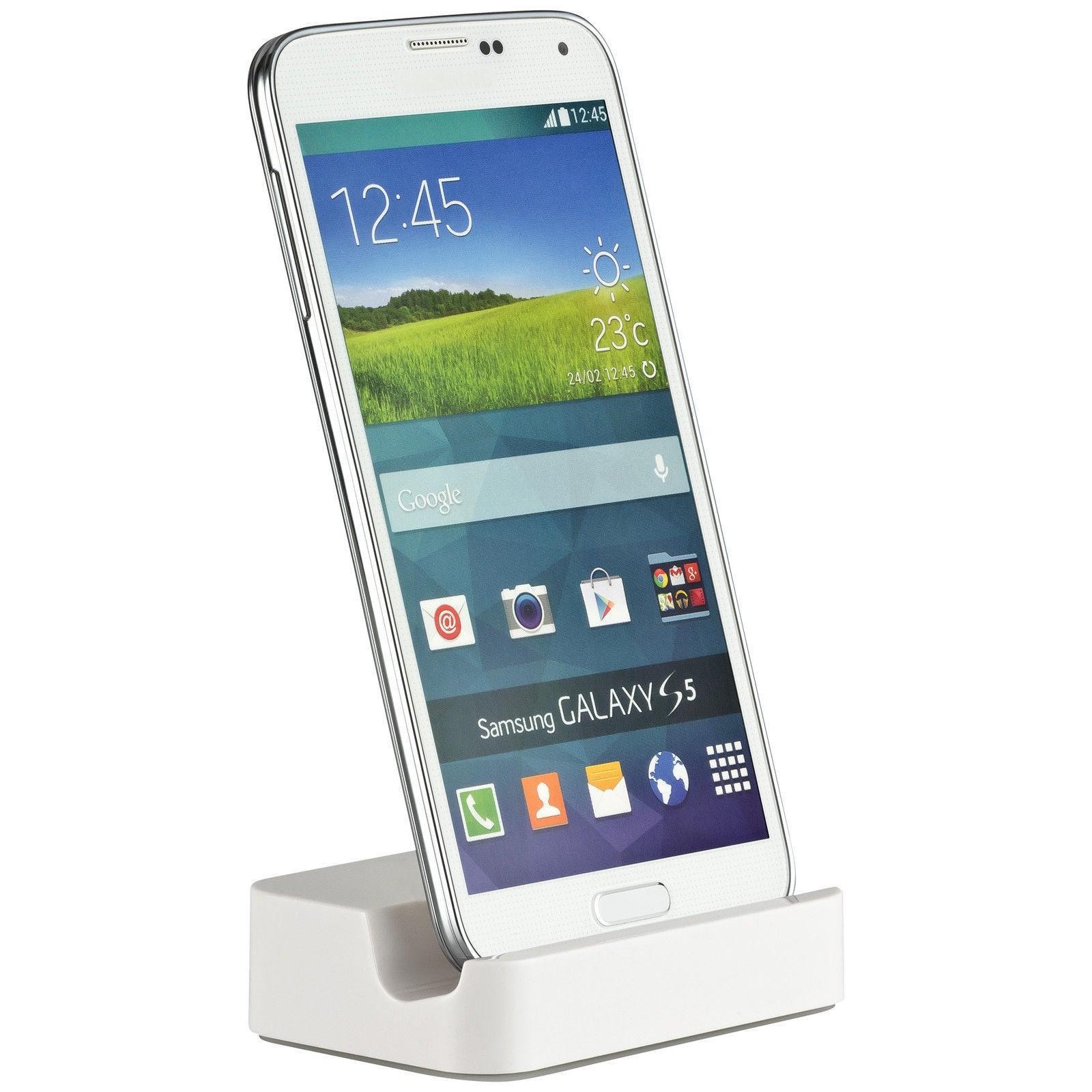Yemota Pro Dockstation Galaxy S6 - Weiß