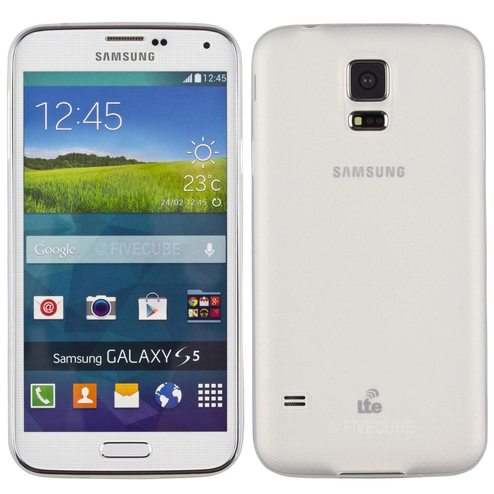 Yemota Pro Slimcase für Samsung Galaxy S5 mini - Weiß