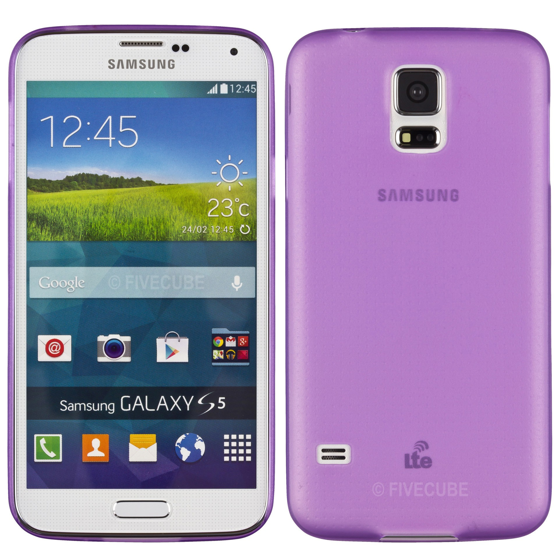 Yemota Pro Slimcase für Samsung Galaxy S5 mini - Lila