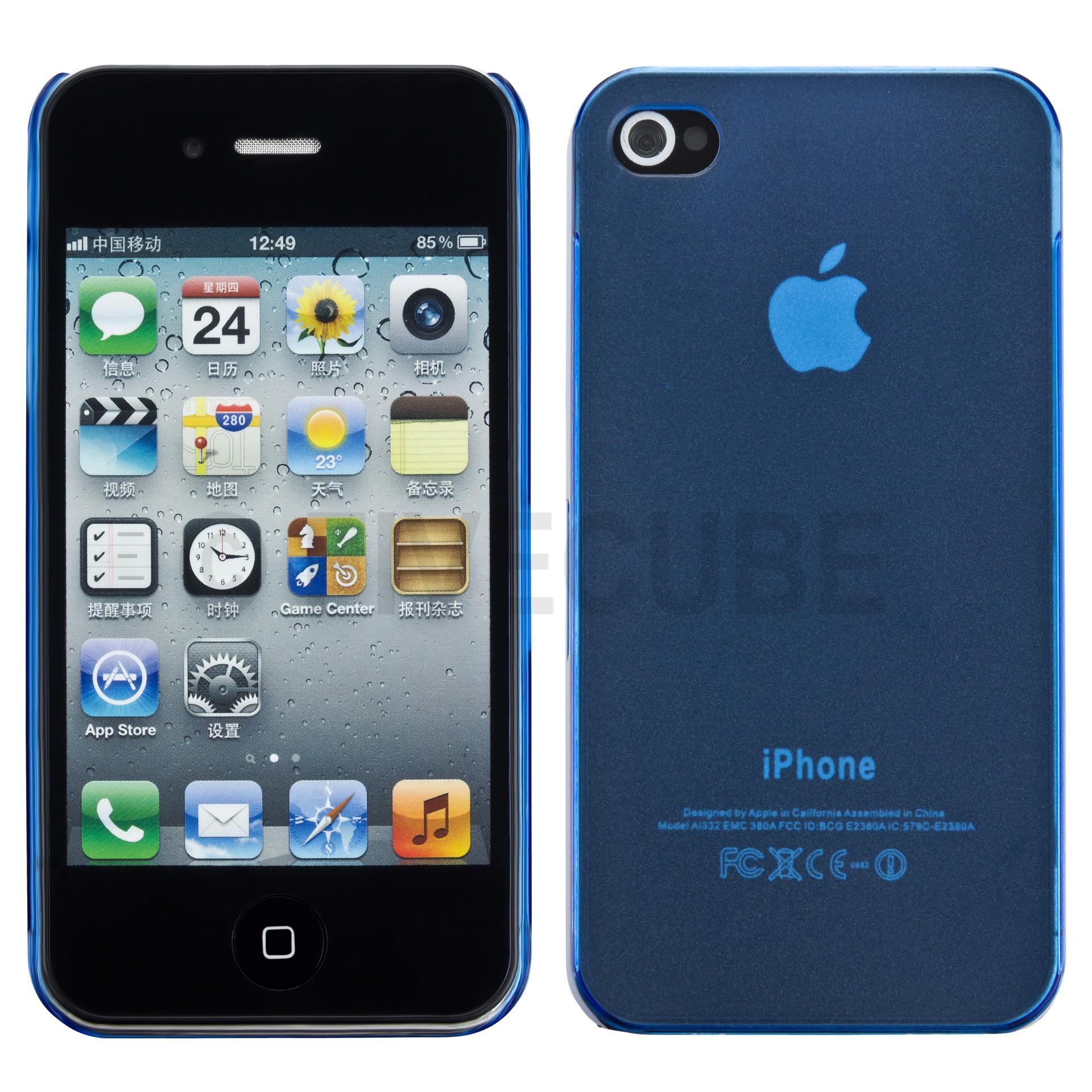 Yemota Pro Slimcase für iPhone 4 / 4S - Blau