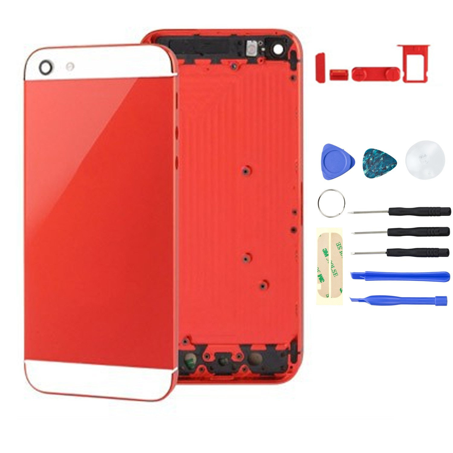 Yemota Pro Housingcover iPhone 5 - Rot