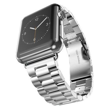 Hoco Apple Watch 42 mm Stainless Steel Armband - Silber - Thumb 1