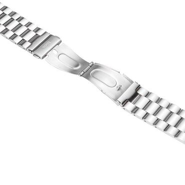 Hoco Apple Watch 42 mm Stainless Steel Armband - Silber - Thumb 3