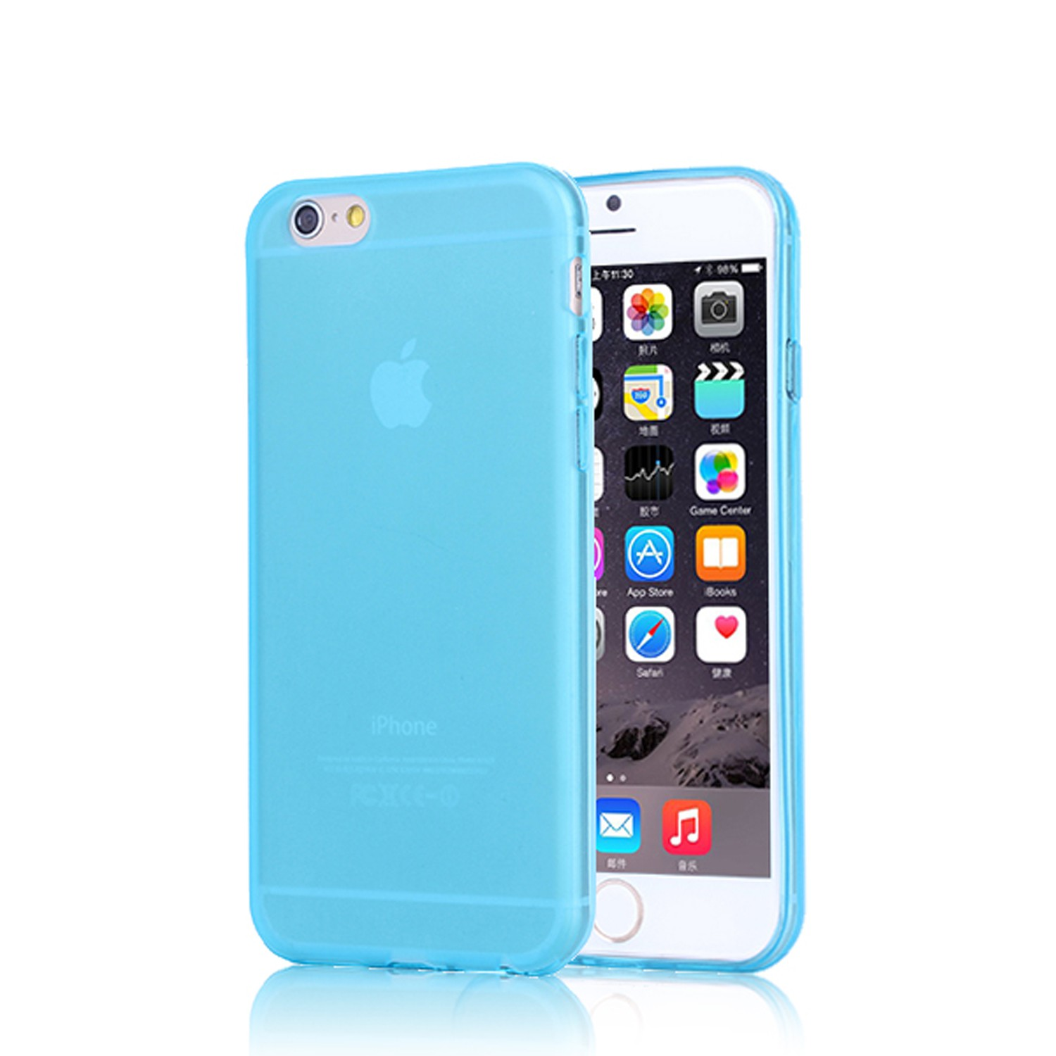 Yemota Pro Softcase iPhone 6s - Blau