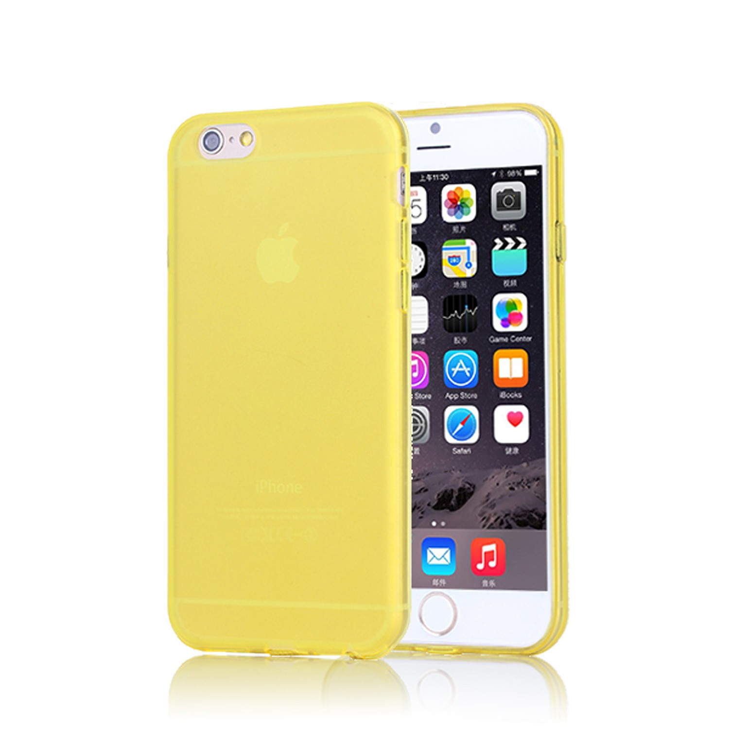 Yemota Pro Softcase iPhone 6s - Gelb