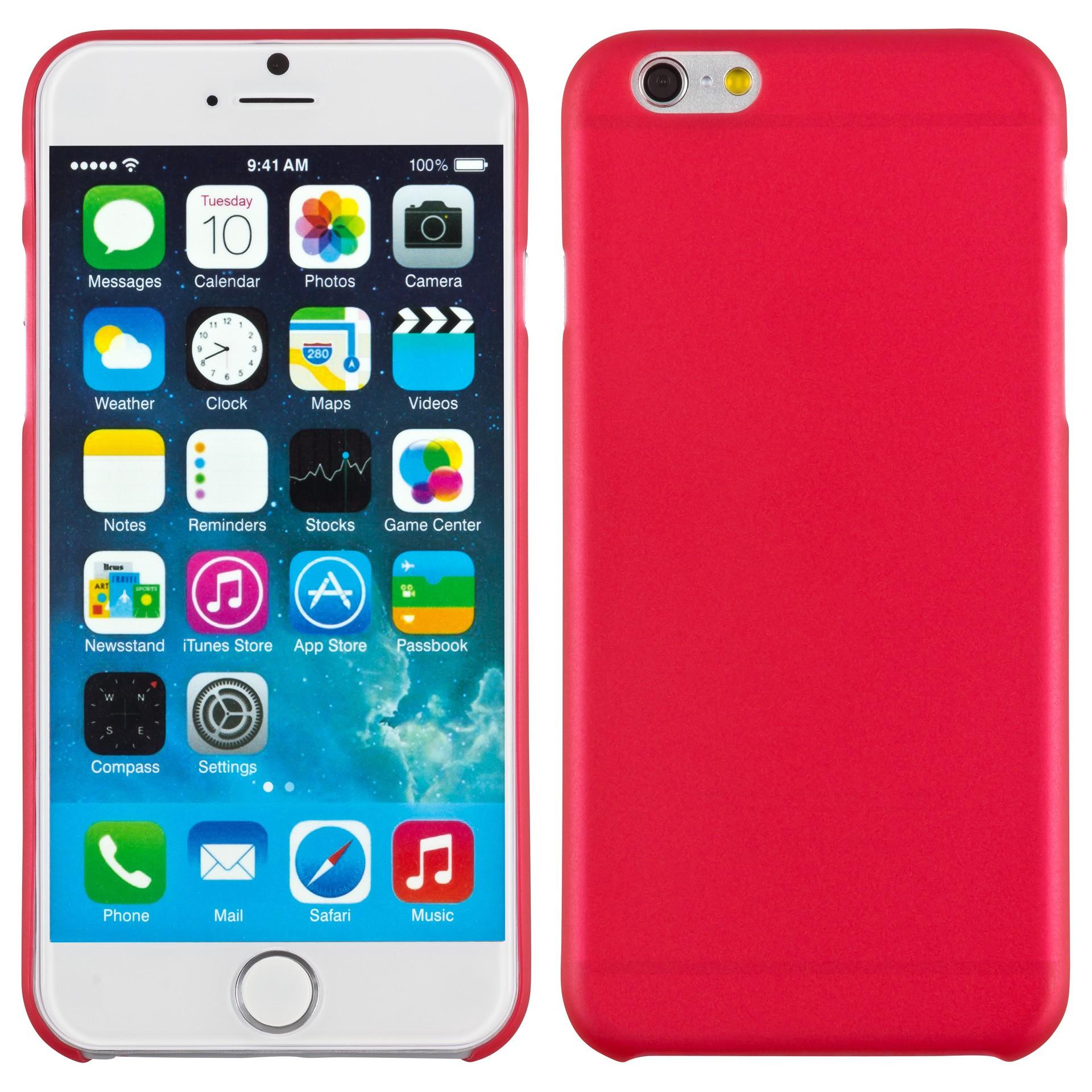 Yemota Pro Slimcase iPhone 6s - Rot