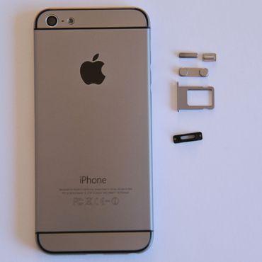 Housingcover Hybrid für iPhone 5 - Grau - Thumb 1