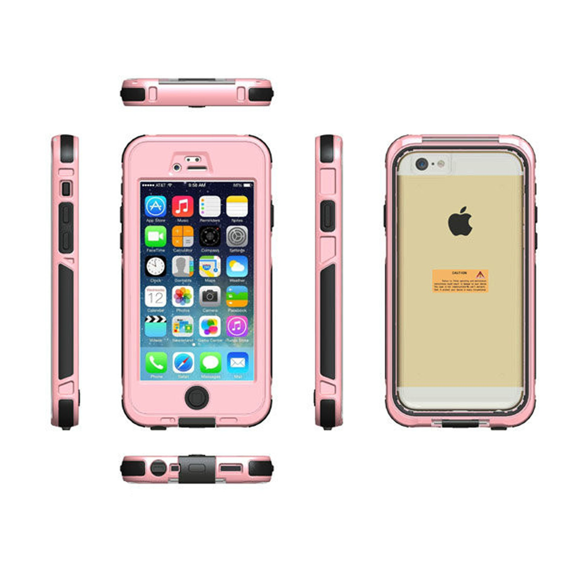 Yemota Pro Waterproof 3m Case iPhone 6 / 6S - Pink