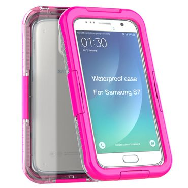Yemota Pro Waterproof Case Samsung Galaxy S7 - Pink