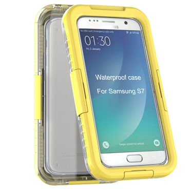 Yemota Pro Waterproof Case Samsung Galaxy S7 - Gelb