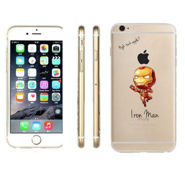 Kritzel Case iPhone 6 / 6s - Iron Man - Thumb 1