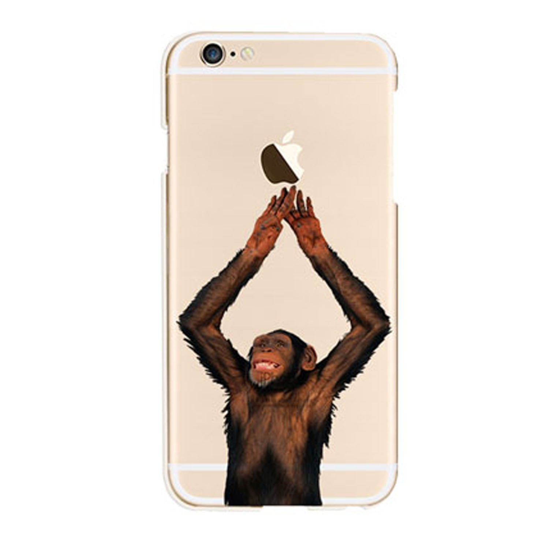 Kritzel Case Funky Collection für iPhone 6 / 6s - Affe #13