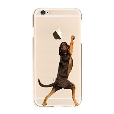 Kritzel Case Funky Collection für iPhone 6 / 6s - Hund stehend #14