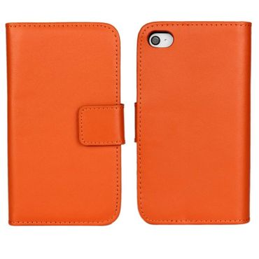Yemota Pro Kunstleder FlipCase iPhone 6 - Orange