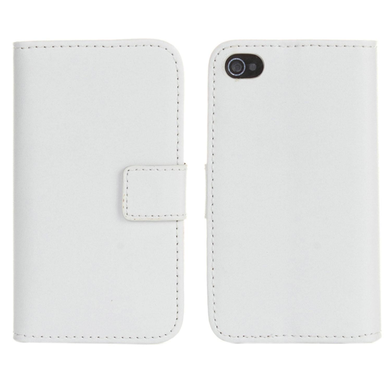 Yemota Pro Kunstleder FlipCase iPhone 6 - Weiß
