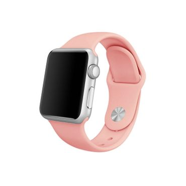 Yemota Pro Apple Watch 38 mm Silikon Armband - Pink - Thumb 1