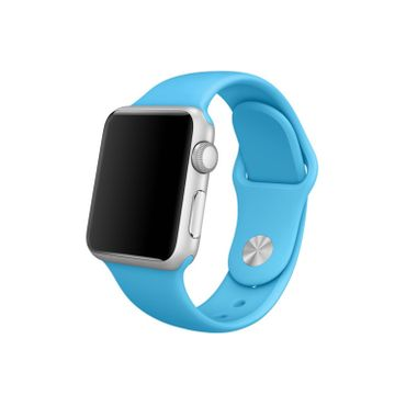 Yemota Pro Apple Watch 38 mm Silikon Armband - Blau - Thumb 1