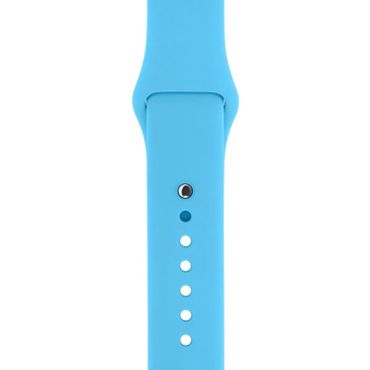 Yemota Pro Apple Watch 38 mm Silikon Armband - Blau - Thumb 2