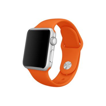 Yemota Pro Apple Watch 38 mm Silikon Armband - Orange - Thumb 1