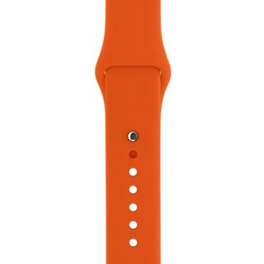 Yemota Pro Apple Watch 38 mm Silikon Armband - Orange - Thumb 2