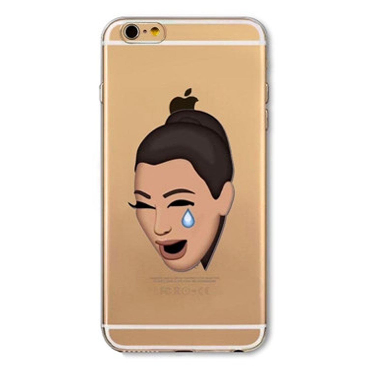 Kritzel Case Emoji Collection iPhone 6 / 6s - Kimoji 2