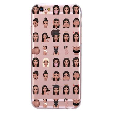 Kritzel Case Emoji Collection iPhone 6 / 6s - Kimoji 4