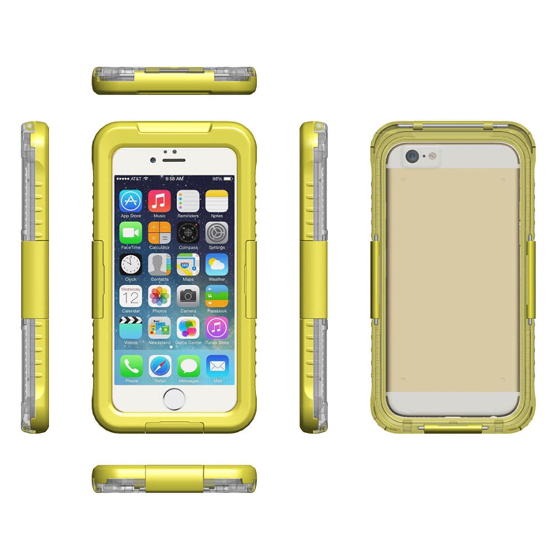 Yemota Pro Waterproof Case iPhone 5 / 5S - Gelb