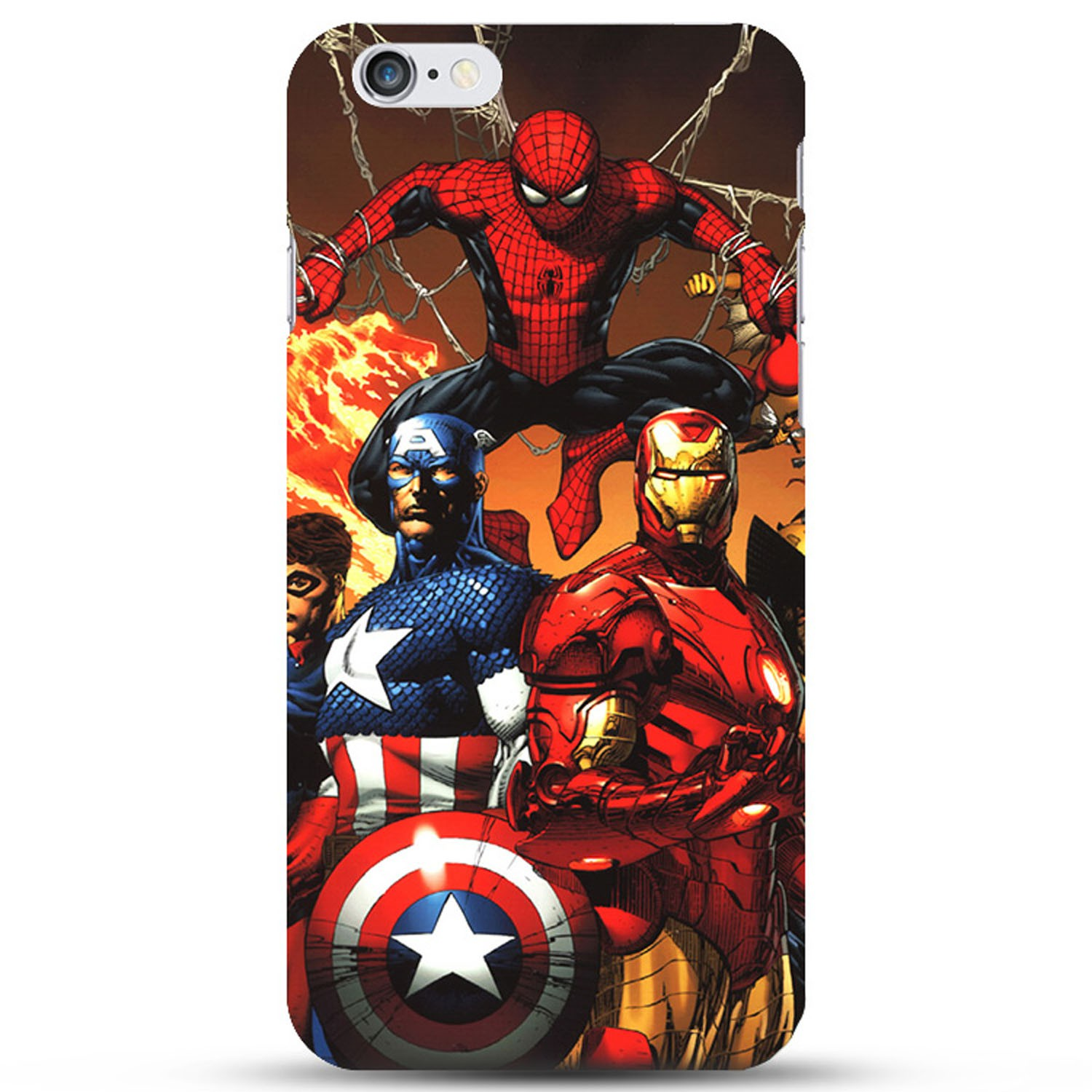 Kritzel Superheroes Collection Case für iPhone 6 / 6s - #10