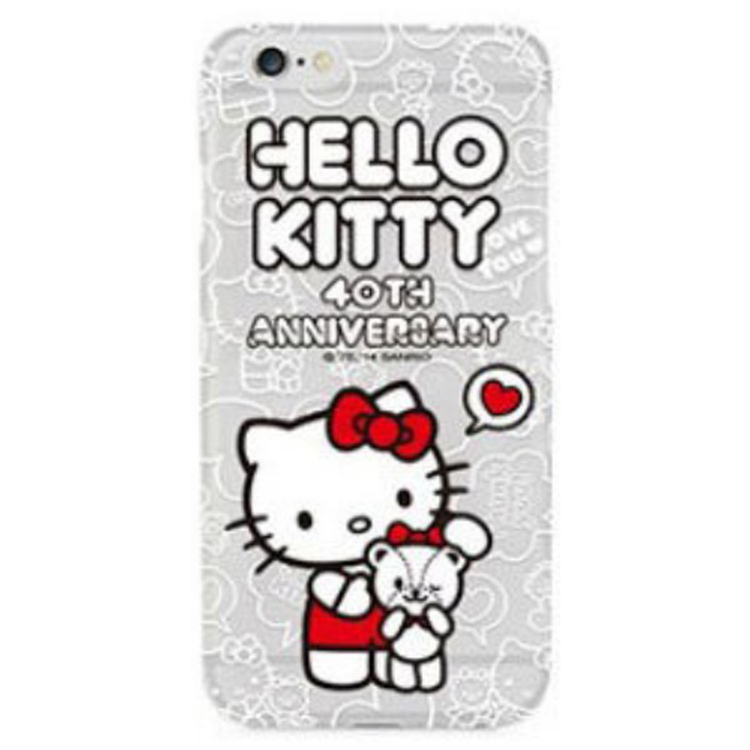 Kritzel Case für iPhone 6 / 6s - Hello Kitty #2