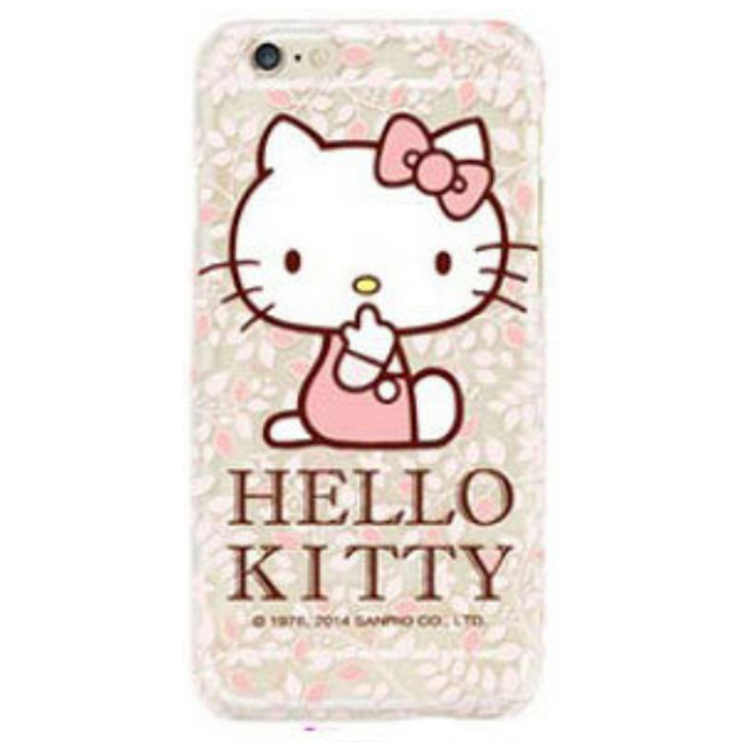 Kritzel Case für iPhone 6 / 6s - Hello Kitty #3