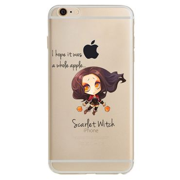 Kritzel Case iPhone 6 / 6s - Scarlet Witch