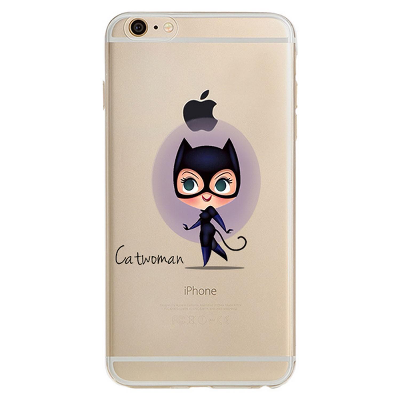 Kritzel Case iPhone 6 / 6s - Catwoman