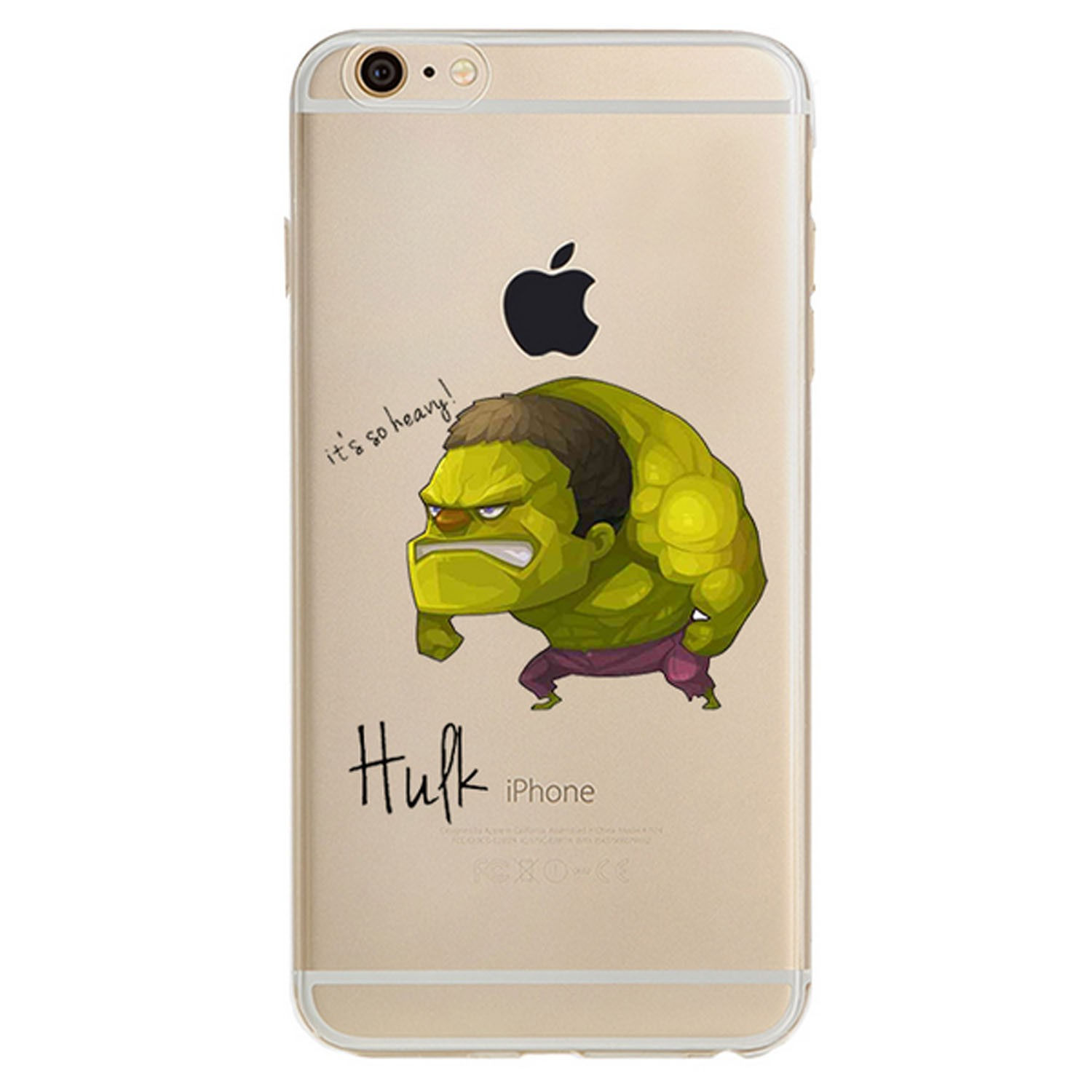 Kritzel Case iPhone 6 plus / 6s plus - Hulk