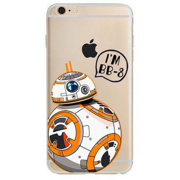 Kritzel Case für iPhone 6 / 6s - Star Wars #1