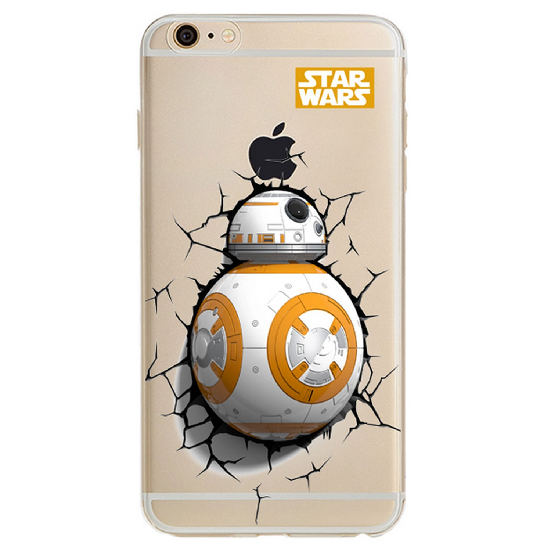 Kritzel Case für iPhone 6 / 6s - Star Wars #5