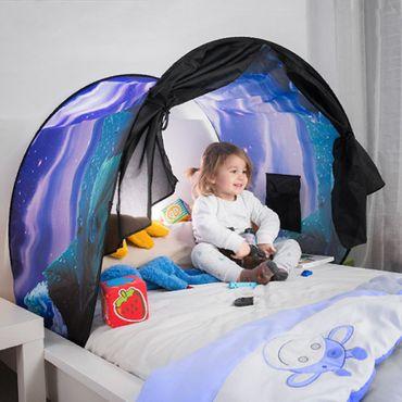 Kinderbett Zelt Zeltdach Tunnel Bettzelt Bogen Bettdach