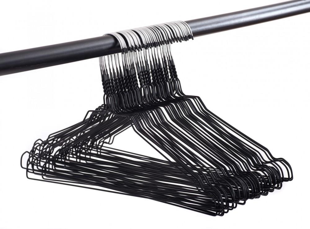 draht kleiderb gel mit rockkerben 50er pack 40 cm breit haus garten aufbewahrung ordnung. Black Bedroom Furniture Sets. Home Design Ideas