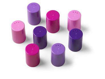 EIKO Salz- und Pfeferstreuer 8er-Set rose-pink-lila-violett – Bild 2