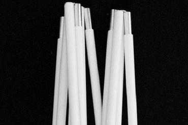 Stativ für Tischlampen in weiss   – Bild 9