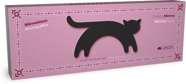 Wärmekissen Katze Minina stehend gross schoko – Bild 3