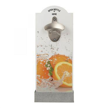 Wand-Flaschenöffner - ORANGE – Bild 1