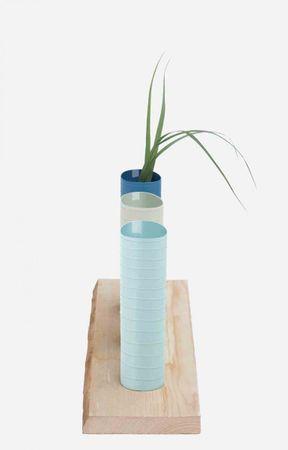 Vase BLUE LINES -M-  – Bild 2