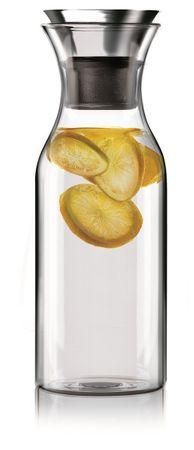 Kühlschrankkaraffe mit Neoprenanzug 1 L Black/Orange  – Bild 3