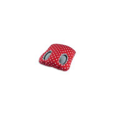 Fuß-Muff Square rot von Leschi – Bild 1