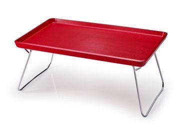 Bett-Tablett rot 53 cm x 32 cm – Bild 1