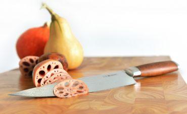 CHROMA Dorimu Santoku - ein echtes Damaszenermesser D-03 17 cm – Bild 9