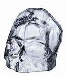 Nude Glasschädel Memento Mori transparent 001